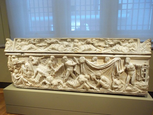 Orestes Sarcophagus, ad 100 125, Greek marble, Roman, Italy (2)