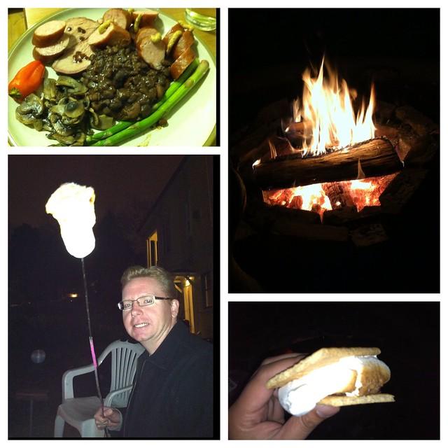 Bonfire in Oakland