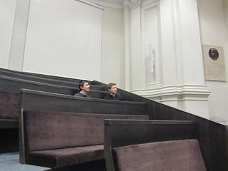 Ivo y Oscar van a la Universidad