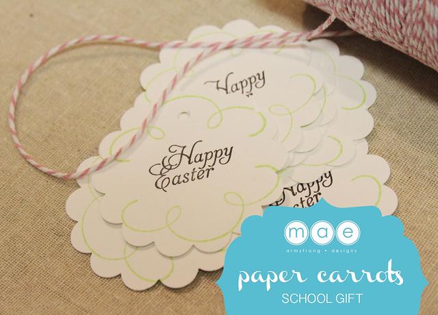 Paper Carrots - School Gift11
