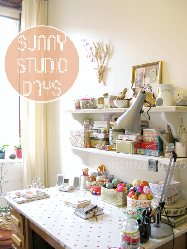 studio details : sunny studio days by © emma lamb