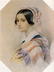 А. О. Смирнова. П. Ф Соколов. Акварель. 1830-е годы