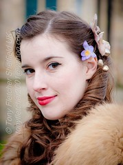 'Laura Lou' Chesterfield 1940's 2nd-3rd March 2013