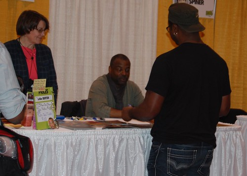 LeVar Burton at Toronto ComiCON 2013