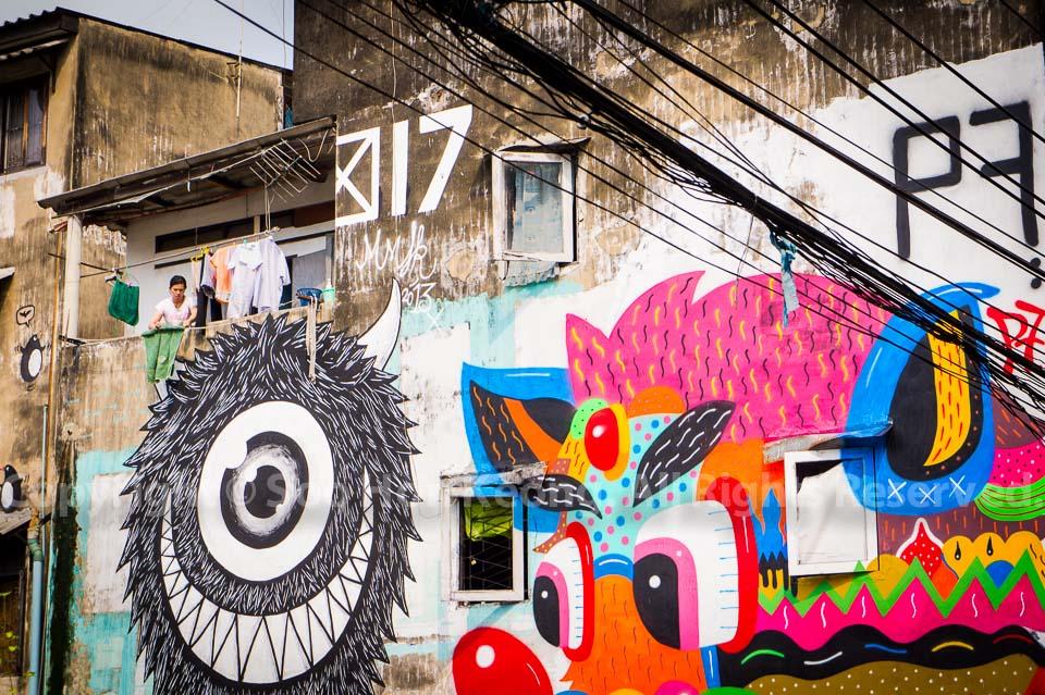 Bukruk Street art festival @ Bangkok, Thailand