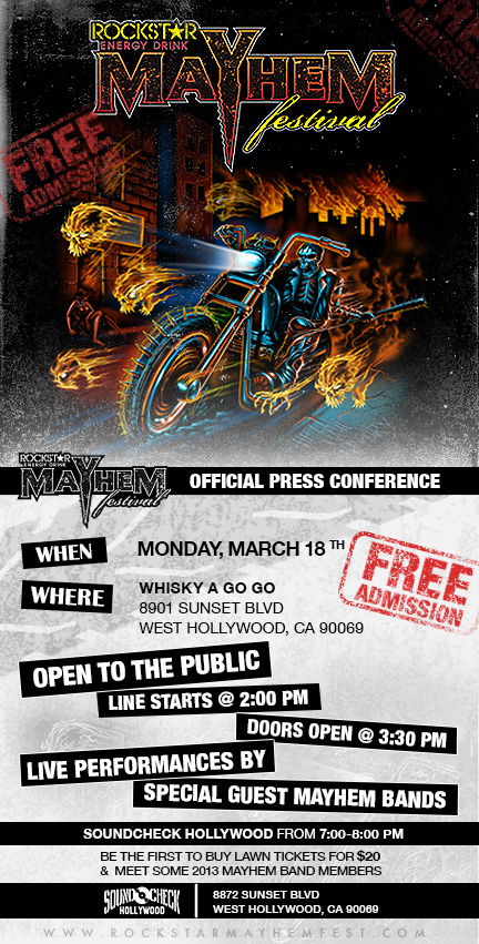 mayhem press conference