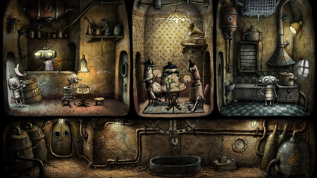 Machinarium para PS Vita