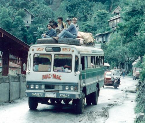 bus philippines banaue