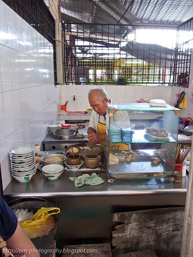chicken congee /porridge stall, gopeng pasar R0022024 copy