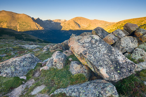 morning blue summer mountains green sunrise colorado unitedstates rockymountains geology estespark tundra rockymountainnationalpark continentaldivide