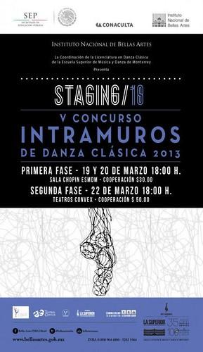 Stagin 18/ V Concurso Intramuros de Danza Clásica