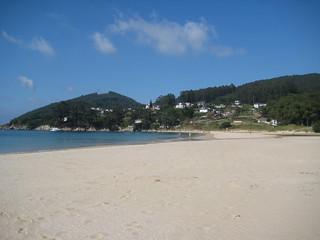 Playa de Area y Monte Faro.
