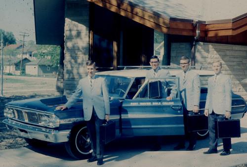 Ambassador Quartet -1965 summer tour