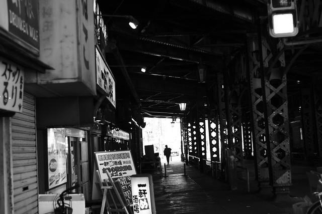 ガード下. Kanda Tokyo, Mar 2013. 082