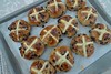 My best hot cross buns ever!