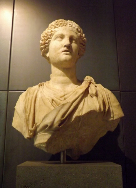 Female Statue from the Horti Tauriani in the Capitoline Museum, July 2012