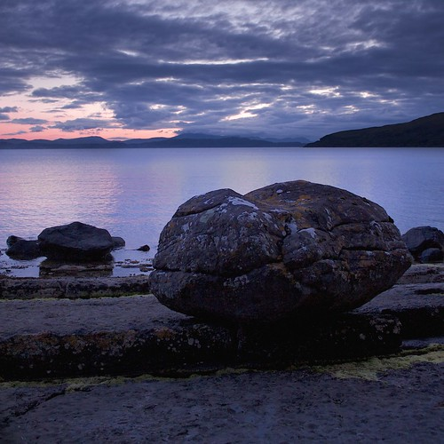 Applecross Boulder by Christopher Swan