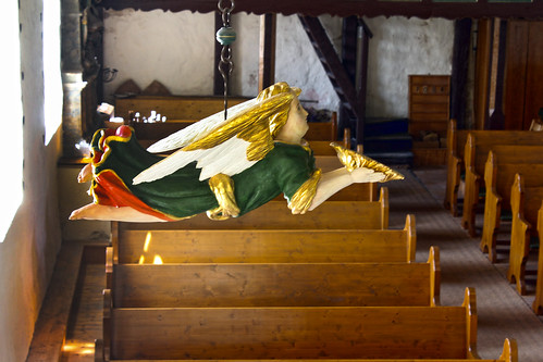 Lindstedt,Kirche,Taufengel