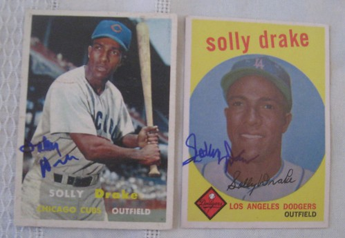 Solly Drake Topps Cards