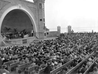 Easter Service at the Daytona Beach Bandshell
