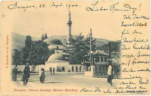 Sarajevo, mosquée impériale, Careva dzamija, 1900