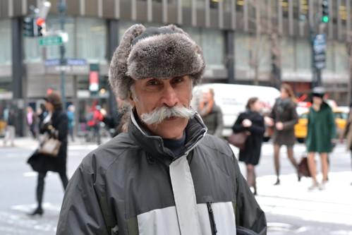 El hombre de los grandes bigotes