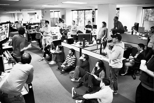 Weekly #FlickrHQ huddle