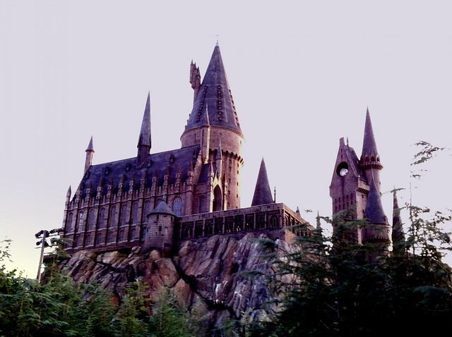 Hogwarts in the evening