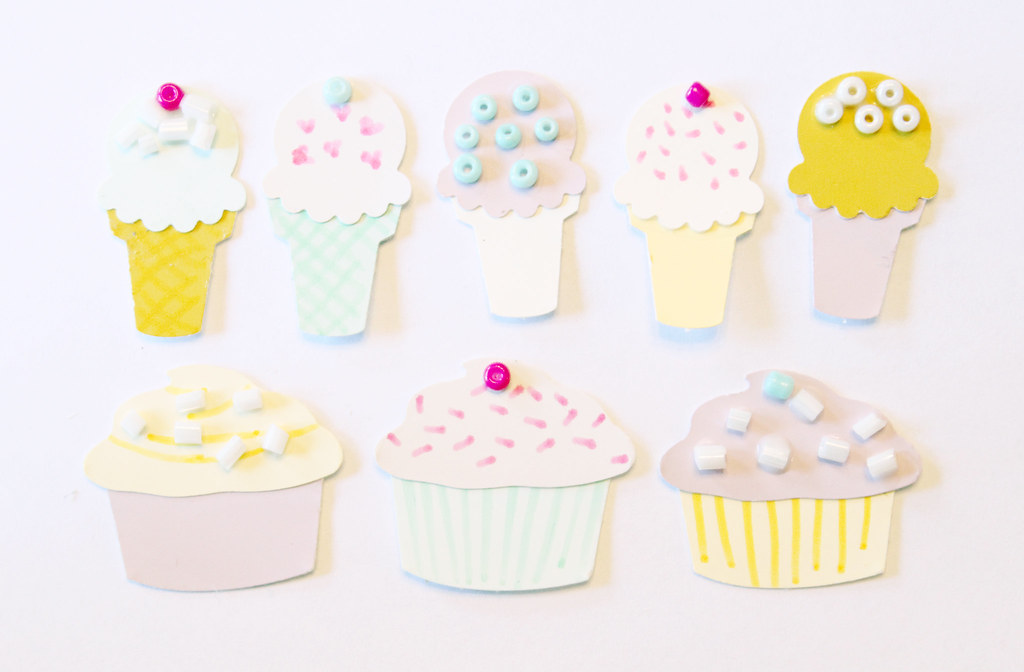 cupcakes and icecream cones