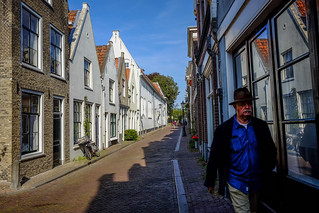 Man with hat @ Gouda