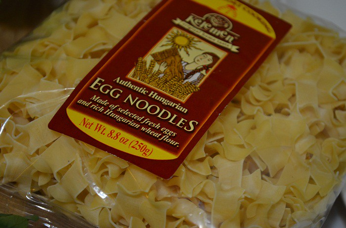 hungarian egg noodles for chicken noodle soup