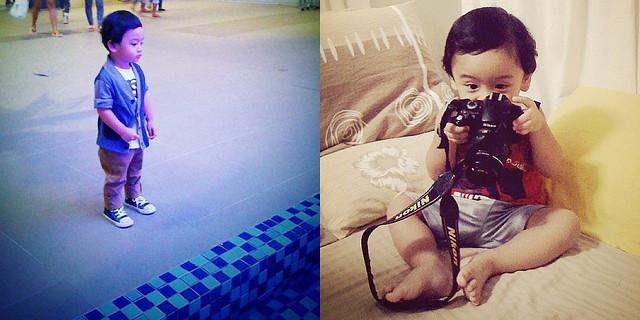 dandy baby + camera baby