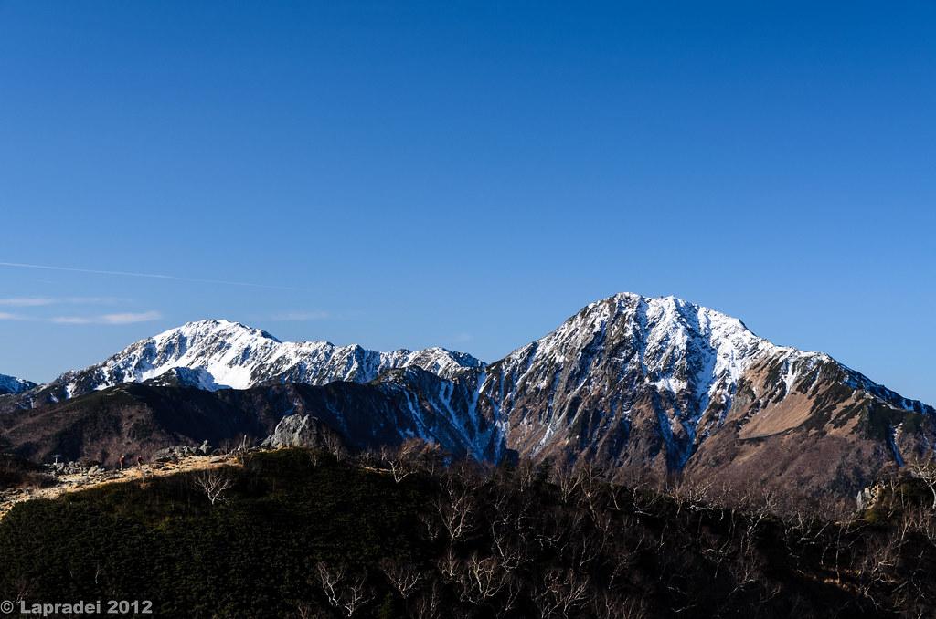 20121104 白根三山