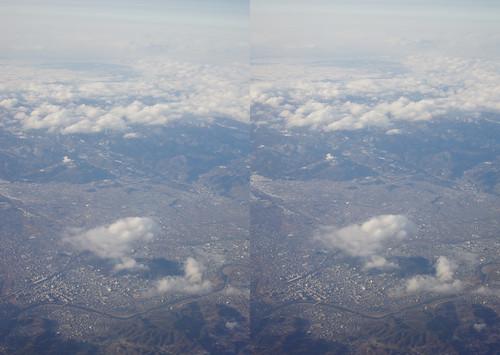 Fukushima-shi, stereo parallel view