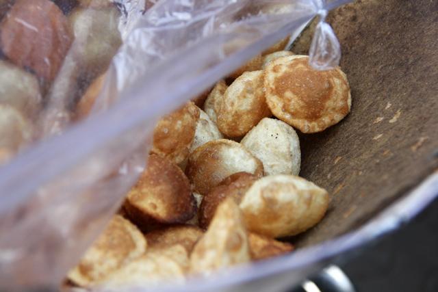 The crunchy puris
