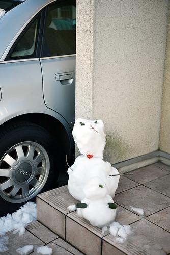 Japan snow man