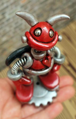 Robot Baby Devil Bert by HerArtSheLoves