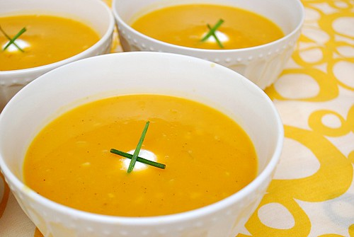 Instant Pot: Butternut Squash & Apple Soup