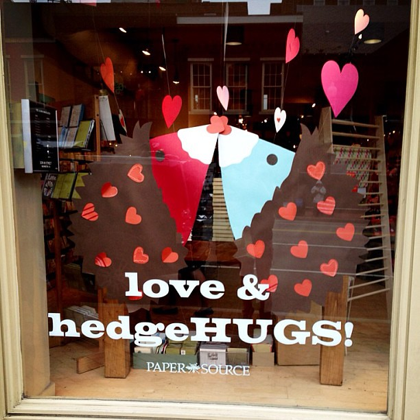 Hedgehugs! I am dying over how cute this is!