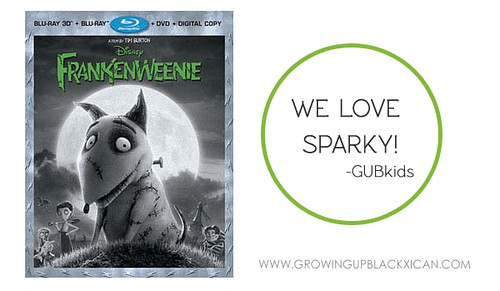 Frankenweenie movie snack