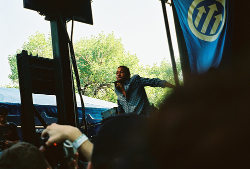 Kendrick Lamar at Pitchfork