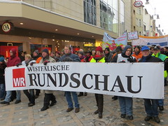 Westfälische Rundschau (WR)-Demonstration in Dortmund