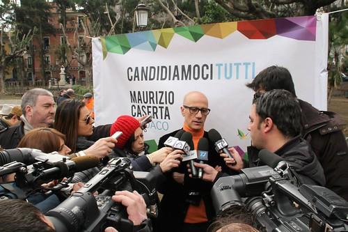 Crocetta sponsorizza Bianco, Caserta attacca: