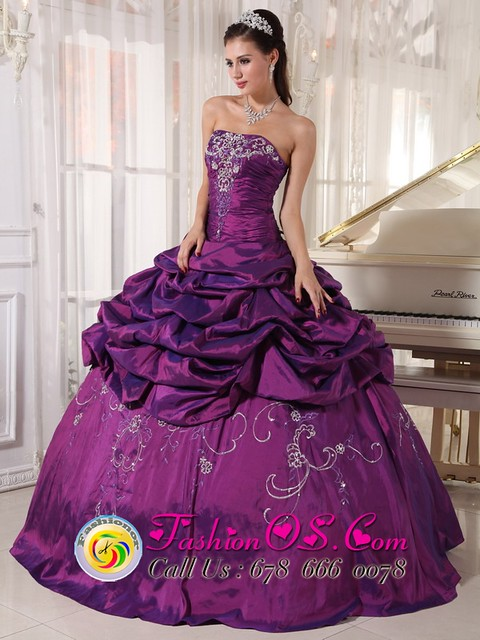 purple strapless quinceanera gowns dresses