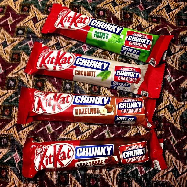 #chocolate #kitkat #chunky #champion