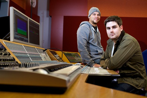Rudimental - music alumni Piers Aggett and Kesi Dryden