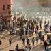 Morocco - Marrakech - Jemaa el-Fna scene by Darrell Godliman