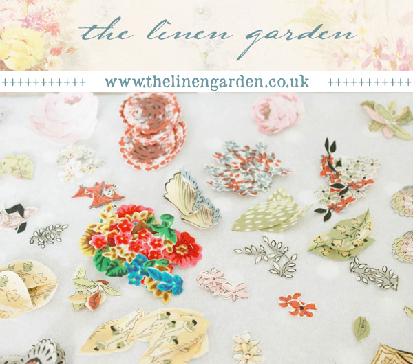 Handmade haberdashery : The Linen Garden by Vicky Trainor