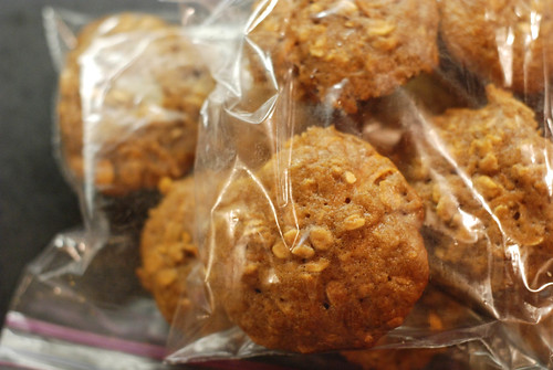 Packaged Pumpkin Oatmeal Mini Muffins