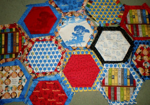 Nancy Drew Hexagons